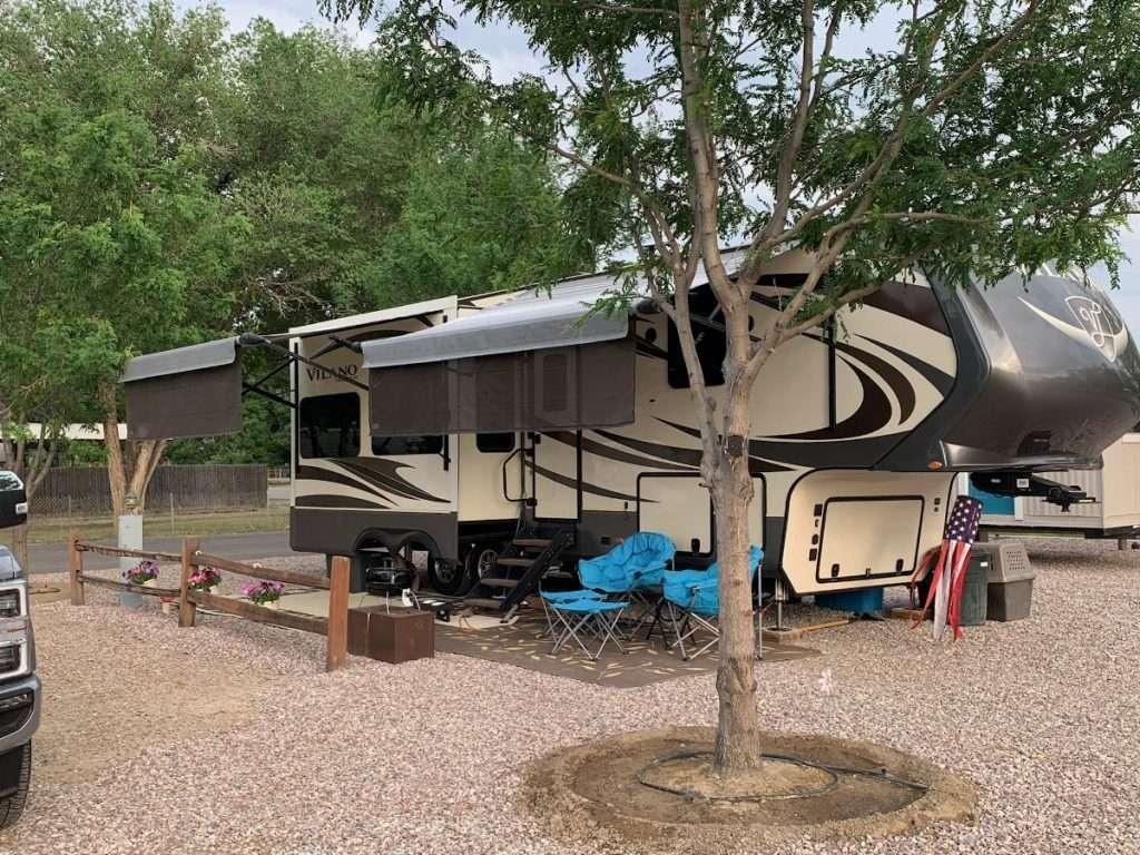 Silver Sage RV Park - site rentals