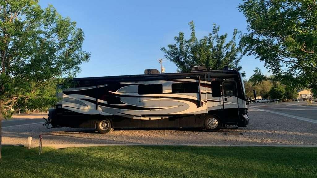 "Silver Sage RV Park - large ""big rig"" friendly sites"