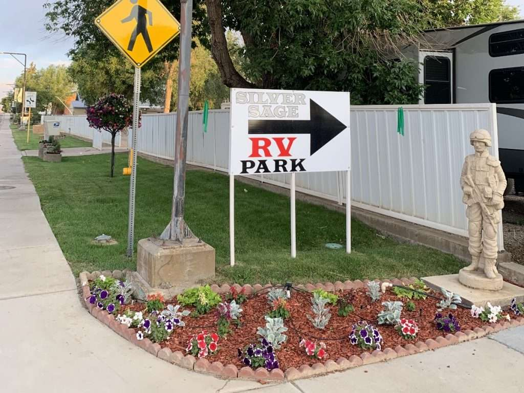 Silver Sage RV Park supports our troops